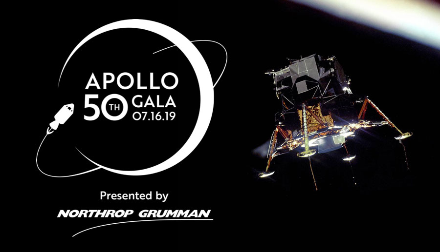 NORTHROP GRUMMAN TITLE SPONSOR OF APOLLO 50TH GALA