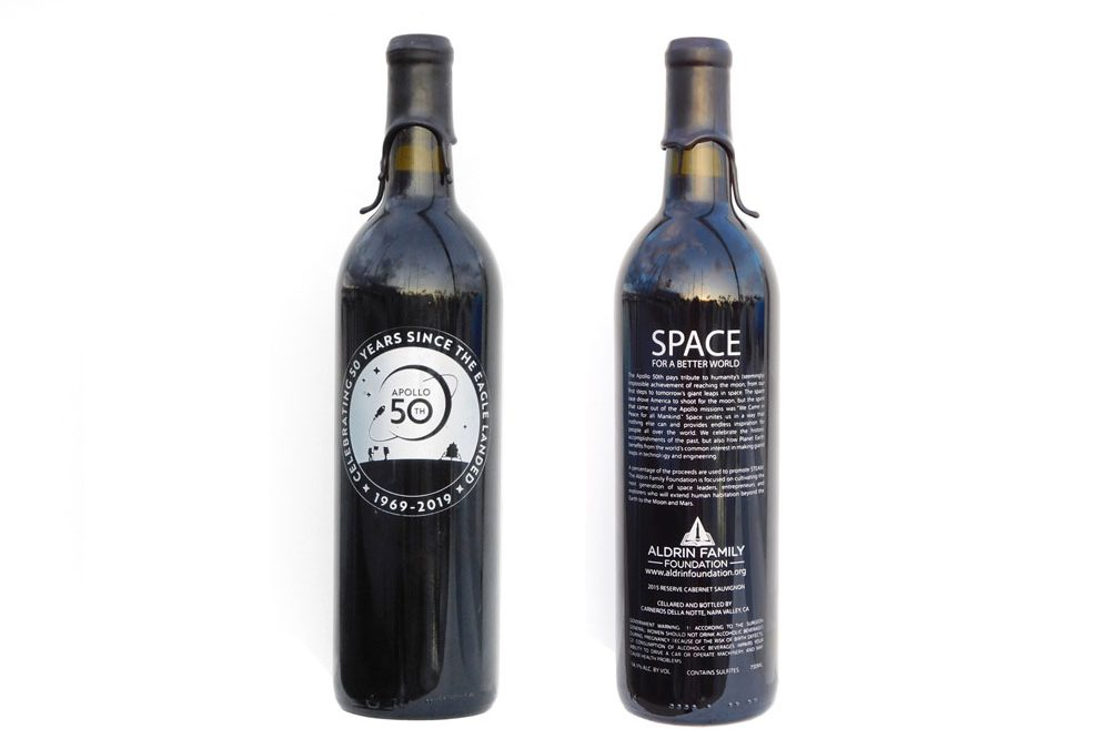 COMMEMORATIVE APOLLO 50th WINE  – ORDER NOW
